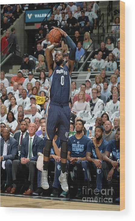 Playoffs Wood Print featuring the photograph Jamychal Green by Mark Sobhani