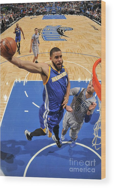 Nba Pro Basketball Wood Print featuring the photograph Javale Mcgee by Fernando Medina