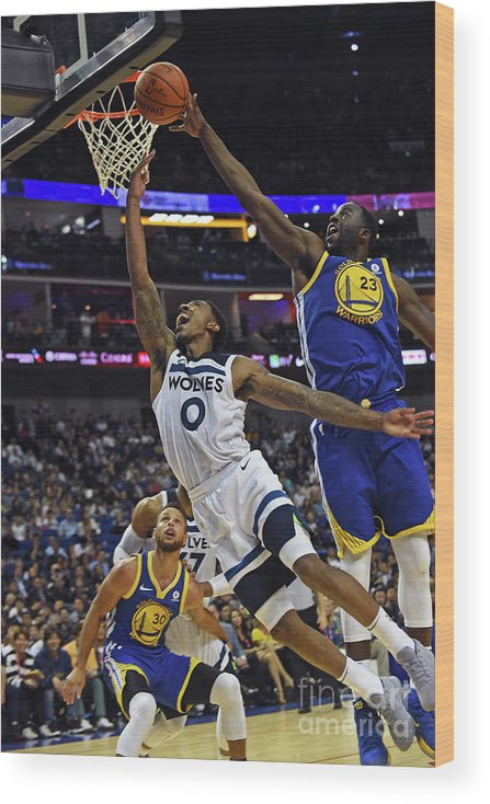 Event Wood Print featuring the photograph Jeff Teague by Noah Graham