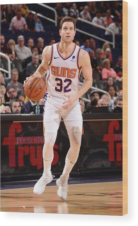 Nba Pro Basketball Wood Print featuring the photograph Jimmer Fredette by Barry Gossage