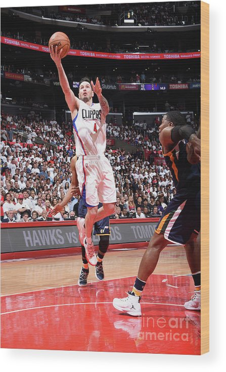 Playoffs Wood Print featuring the photograph J.j. Redick by Andrew D. Bernstein