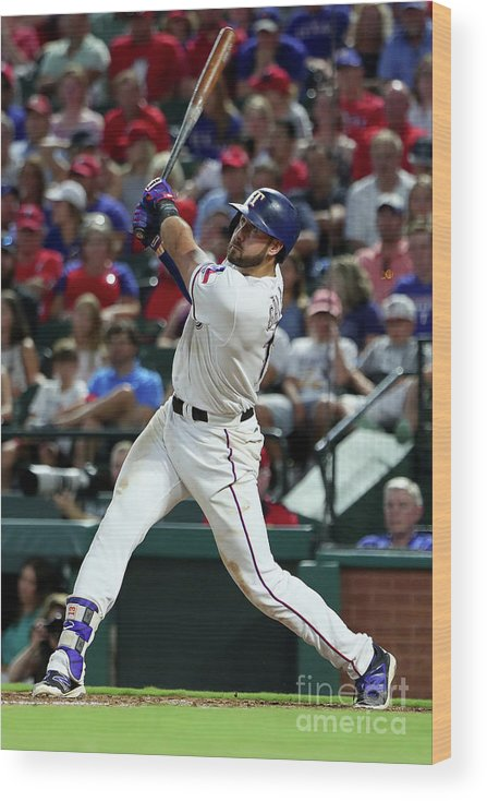 People Wood Print featuring the photograph Joey Gallo by Tom Pennington