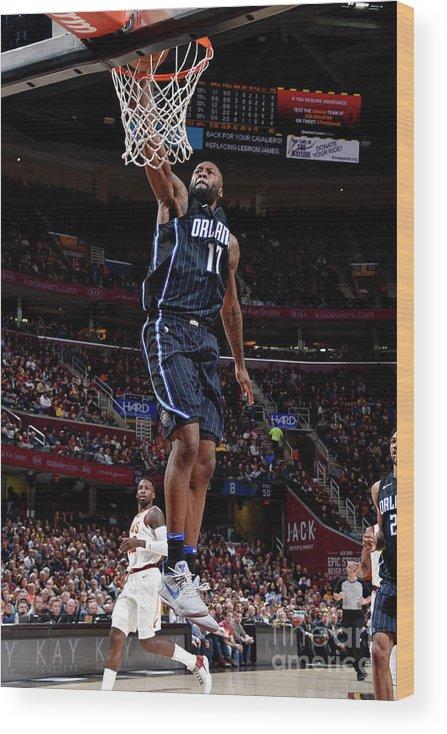 Nba Pro Basketball Wood Print featuring the photograph Jonathon Simmons by David Liam Kyle