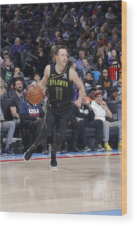 Nba Pro Basketball Wood Print featuring the photograph Josh Magette by Rocky Widner