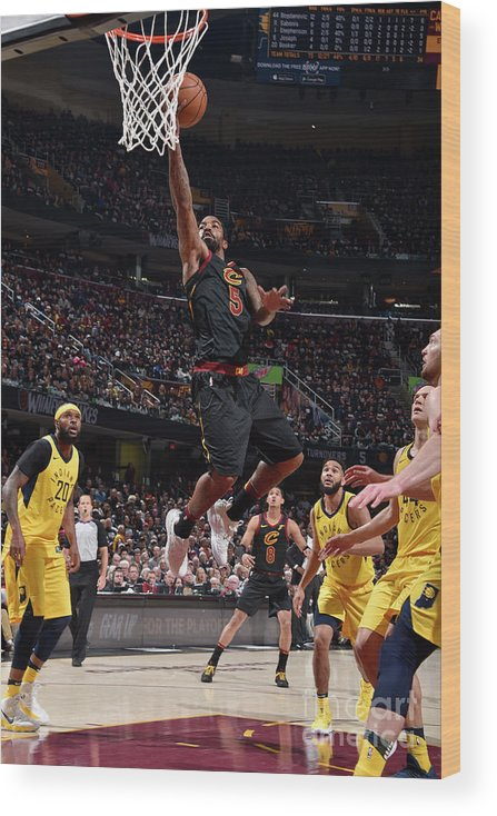 Playoffs Wood Print featuring the photograph J.r. Smith by David Liam Kyle