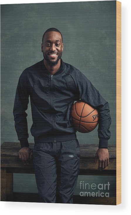 Event Wood Print featuring the photograph Kemba Walker by Jennifer Pottheiser