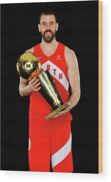 Playoffs Wood Print featuring the photograph Marc Gasol by Jesse D. Garrabrant