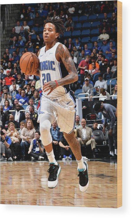 Nba Pro Basketball Wood Print featuring the photograph Markelle Fultz by Fernando Medina
