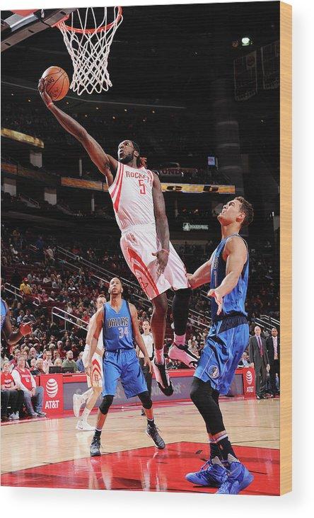 Nba Pro Basketball Wood Print featuring the photograph Montrezl Harrell by Bill Baptist