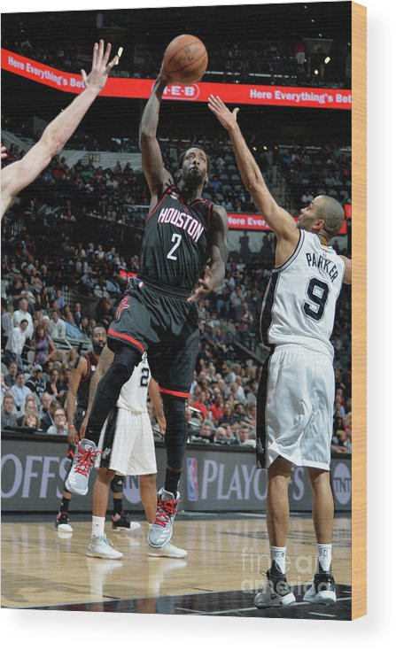 Game Two Wood Print featuring the photograph Patrick Beverley by Mark Sobhani