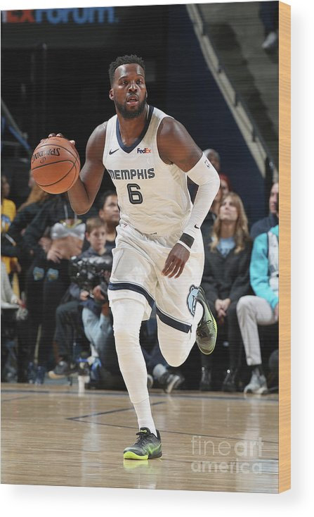 Nba Pro Basketball Wood Print featuring the photograph Shelvin Mack by Joe Murphy