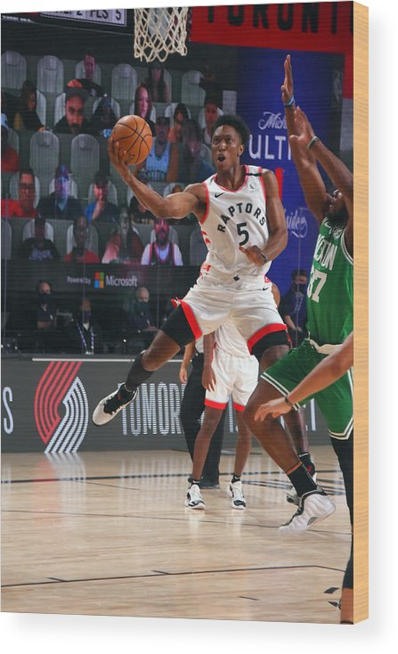 Nba Pro Basketball Wood Print featuring the photograph Stanley Johnson by Bill Baptist