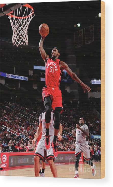 Nba Pro Basketball Wood Print featuring the photograph Terrence Ross by Bill Baptist