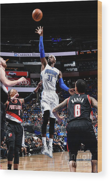 Nba Pro Basketball Wood Print featuring the photograph Terrence Ross by Fernando Medina