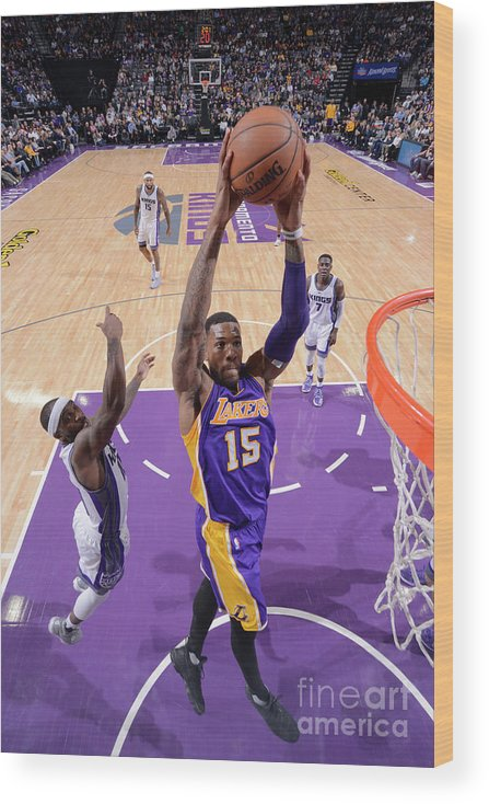 Nba Pro Basketball Wood Print featuring the photograph Thomas Robinson by Rocky Widner