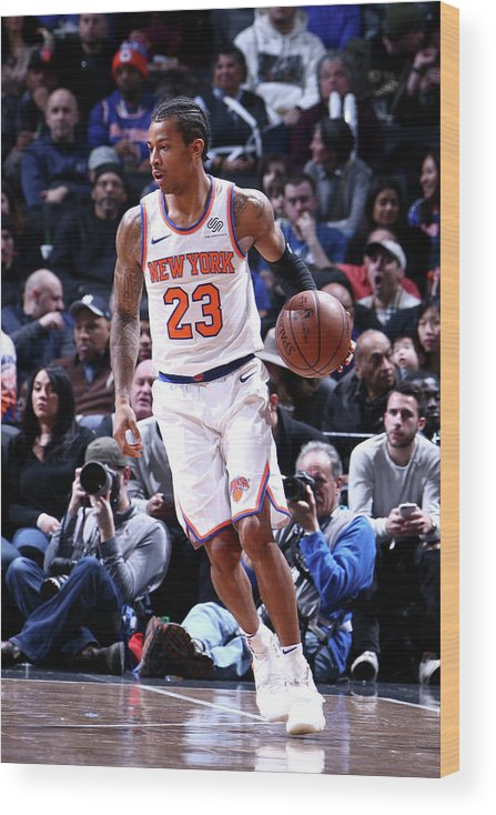 Nba Pro Basketball Wood Print featuring the photograph Trey Burke by Nathaniel S. Butler