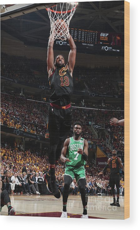 Playoffs Wood Print featuring the photograph Tristan Thompson by Nathaniel S. Butler