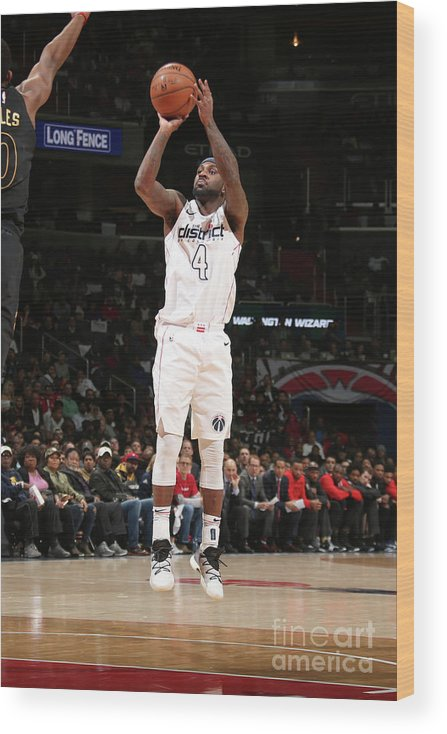 Playoffs Wood Print featuring the photograph Ty Lawson by Ned Dishman