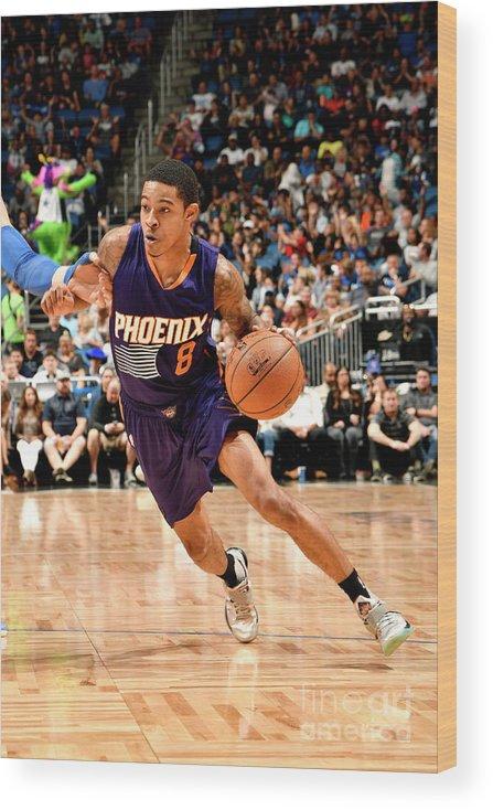 Nba Pro Basketball Wood Print featuring the photograph Tyler Ulis by Fernando Medina