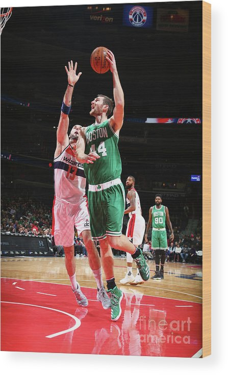 Nba Pro Basketball Wood Print featuring the photograph Tyler Zeller by Ned Dishman
