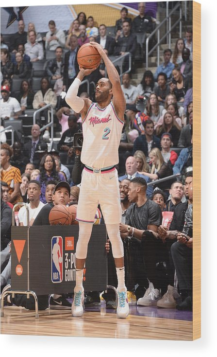 Event Wood Print featuring the photograph Wayne Ellington by Andrew D. Bernstein