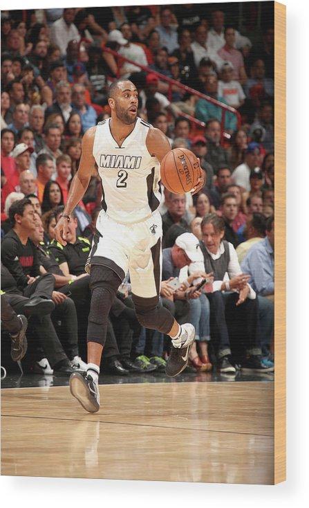Nba Pro Basketball Wood Print featuring the photograph Wayne Ellington by Issac Baldizon