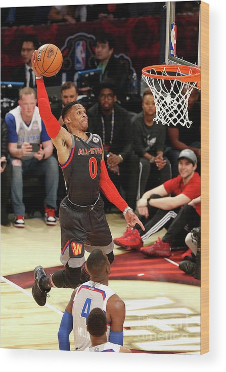 Event Wood Print featuring the photograph Russell Westbrook by Layne Murdoch