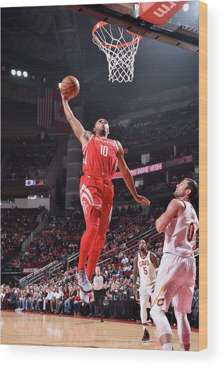 Nba Pro Basketball Wood Print featuring the photograph Eric Gordon by Bill Baptist