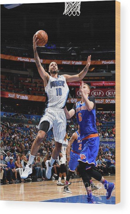 Nba Pro Basketball Wood Print featuring the photograph Evan Fournier by Fernando Medina