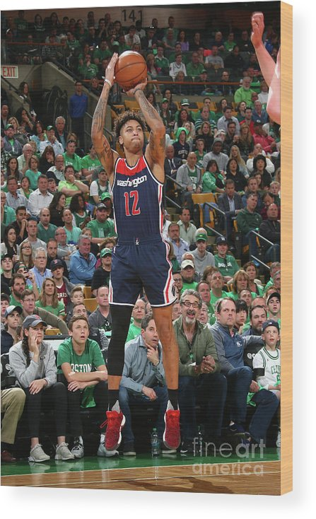 Playoffs Wood Print featuring the photograph Kelly Oubre by Ned Dishman