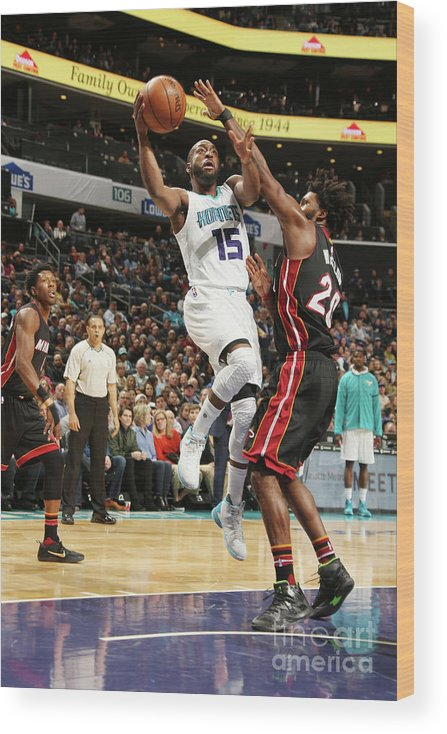 Kemba Walker Wood Print featuring the photograph Kemba Walker by Kent Smith