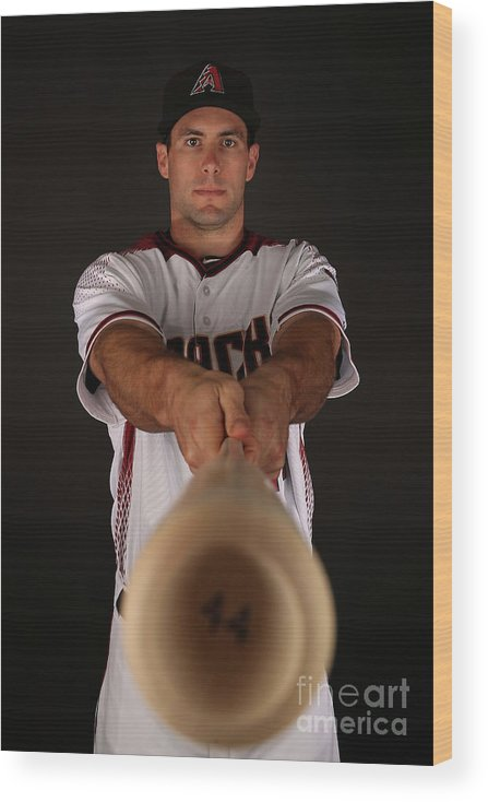 Media Day Wood Print featuring the photograph Paul Goldschmidt by Christian Petersen