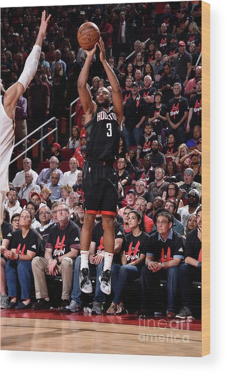 Playoffs Wood Print featuring the photograph Chris Paul by Bill Baptist