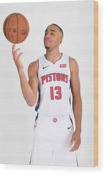 Nba Pro Basketball Wood Print featuring the photograph Brice Johnson by Chris Schwegler