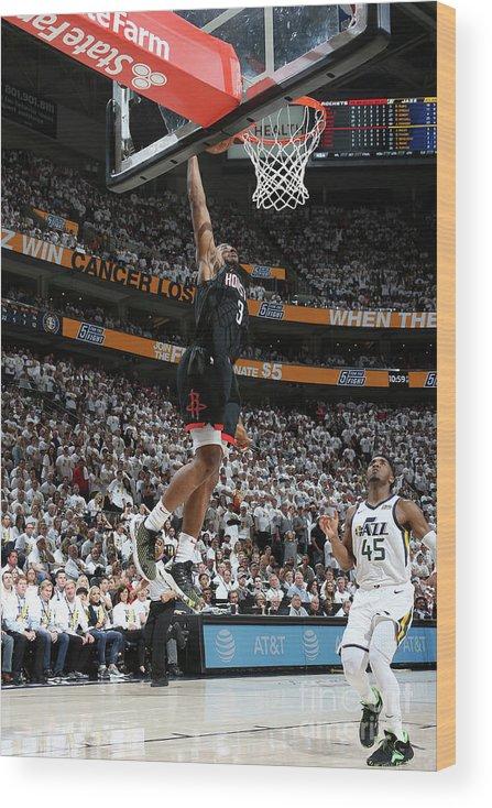 Playoffs Wood Print featuring the photograph Chris Paul by Melissa Majchrzak