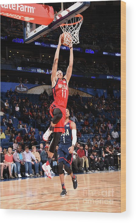 Event Wood Print featuring the photograph Dante Exum by Andrew D. Bernstein