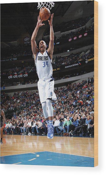 Nba Pro Basketball Wood Print featuring the photograph Devin Harris by Glenn James