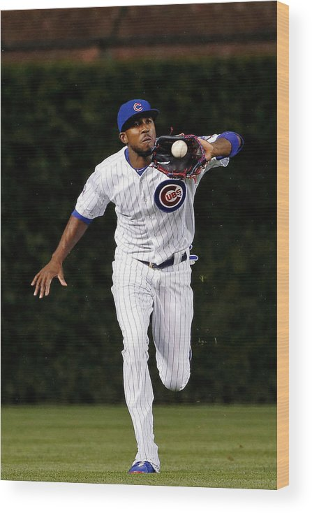 People Wood Print featuring the photograph Dexter Fowler by Jon Durr