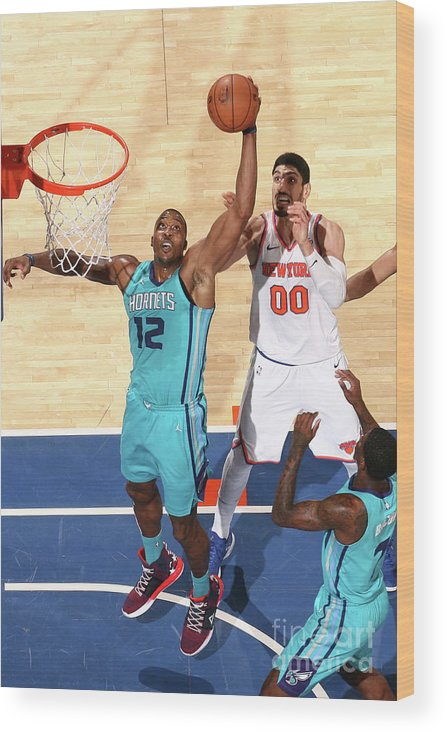 Nba Pro Basketball Wood Print featuring the photograph Dwight Howard by Nathaniel S. Butler