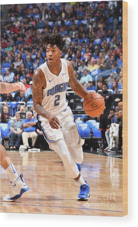Nba Pro Basketball Wood Print featuring the photograph Elfrid Payton by Fernando Medina