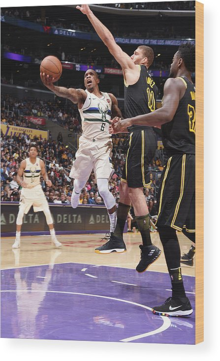 Nba Pro Basketball Wood Print featuring the photograph Eric Bledsoe by Andrew D. Bernstein