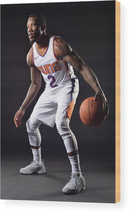 Nba Pro Basketball Wood Print featuring the photograph Eric Bledsoe by Barry Gossage