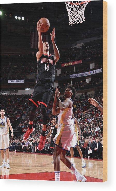 Nba Pro Basketball Wood Print featuring the photograph Gerald Green by Bill Baptist