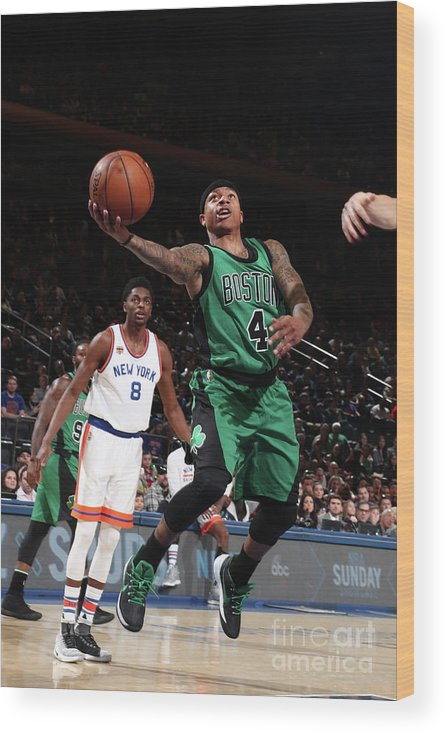 Nba Pro Basketball Wood Print featuring the photograph Isaiah Thomas by Nathaniel S. Butler