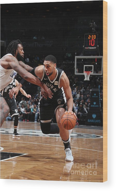 Nba Pro Basketball Wood Print featuring the photograph Jahlil Okafor by Nathaniel S. Butler