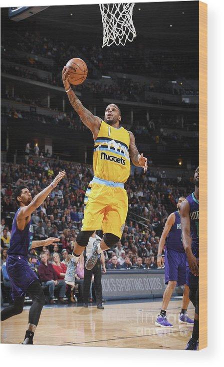 Nba Pro Basketball Wood Print featuring the photograph Jameer Nelson by Garrett Ellwood