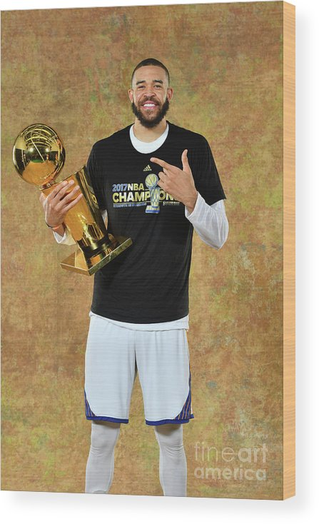 Playoffs Wood Print featuring the photograph Javale Mcgee by Jesse D. Garrabrant
