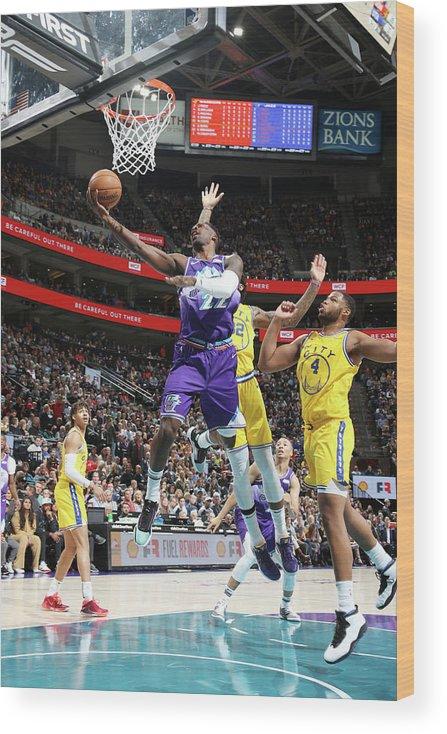 Nba Pro Basketball Wood Print featuring the photograph Jeff Green by Melissa Majchrzak