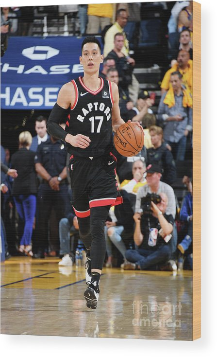 Playoffs Wood Print featuring the photograph Jeremy Lin by Andrew D. Bernstein