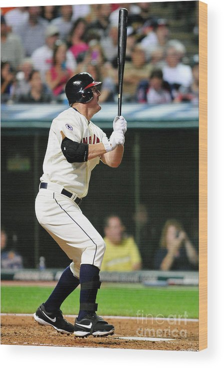 People Wood Print featuring the photograph Jim Thome by Jason Miller